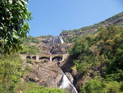 Vodopád Dudhsaghar (nahrál: admin)