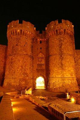 Rhodos - brána do starého města (nahrál: Terry)