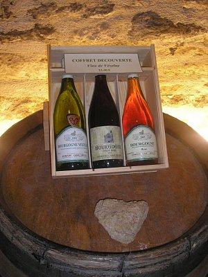 burgundské víno (z Vézelay) (nahrál: Lucie Tichá)