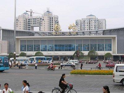 Guilin - nádraží (nahrál: admin)