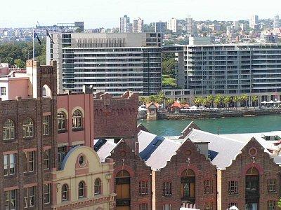 The Rocks v Sydney, postavená trestanci (nahrál: admin)