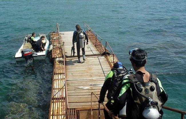 Potápění na Chajnanu