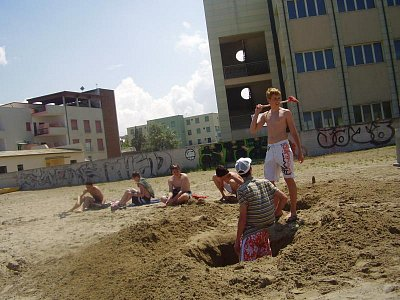 na plaži (nahrál: Violka)