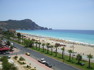 Alanya - Kleopatřina pláž (nahrál: Sandy3)