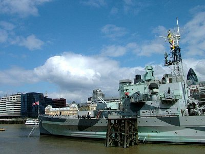 HMS Belfast z blízka (nahrál: admin)