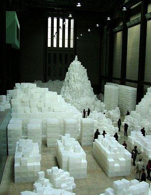 Instalace v Tate Modern (nahrál: admin)