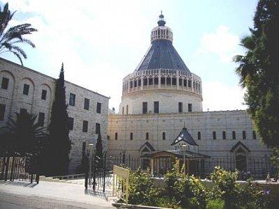 Nazaret-Bazilika Zvěstování (nahrál: admin)
