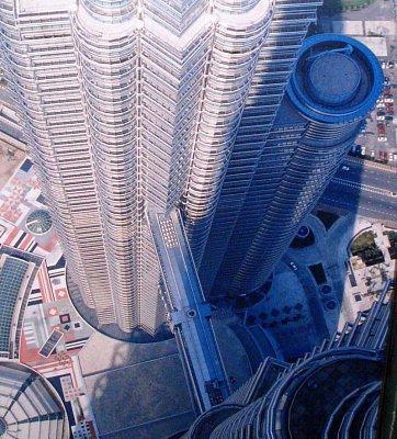 Pohled z Petronas Twin Towers (nahrál: admin)