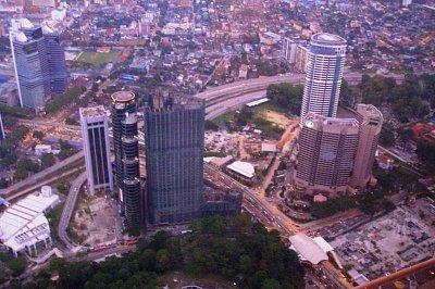 Výhled z Menara Tower (nahrál: admin)