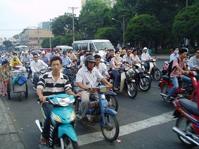 Ho Či Minovo Město-doprava (nahrál: admin)
