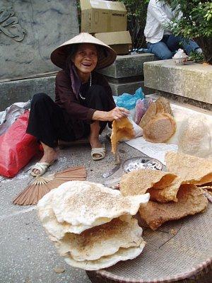 Pouliční prodavačka (nahrál: admin)