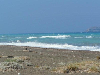 jihozápadní pobřeží ostrova Rhodos (nahrál: Mirka)