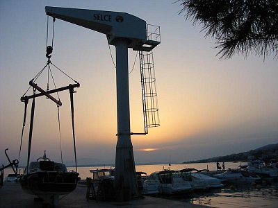 Večer v přístavu(Selce) (nahrál: Petr Pokorný)