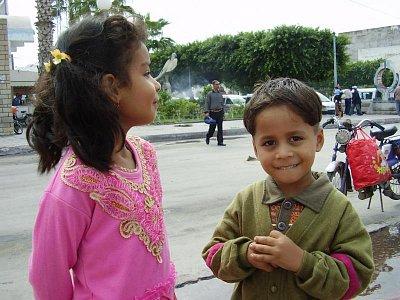 Děti se rády fotí (nahrál: Jechort)