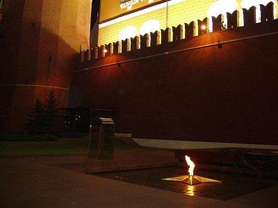 věčný oheň u kremelské zďi (nahrál: Kamil Hainc)