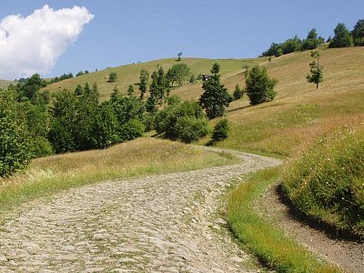 cesta na Terentin - polonina Svidovec (nahrál: Kamil Hainc)