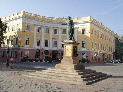 památních na vrcholu Potěmkinových schodu (nahrál: Kamil Hainc)