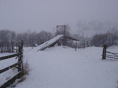 Jasiňa - cesta ke dřevěnému kostelu - Strukivskaja cerkev (nahrál: Kamil Hainc)