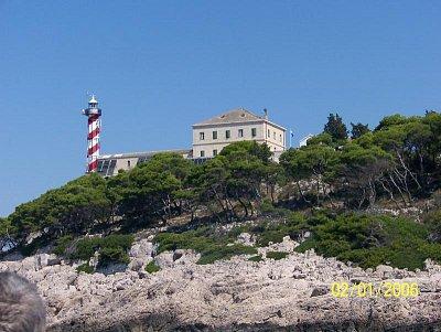 Maják na ostrově Vela Sestrica (nahrál: Pavel Brabec)