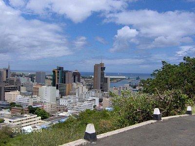 Pohled na hlavní město od pevnosti (nahrál: J.Mindeková)