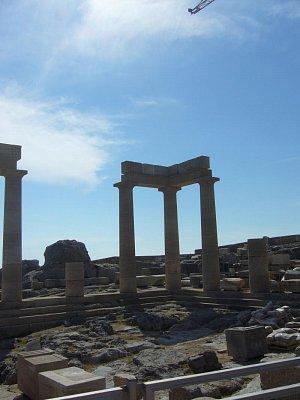 Rhodos - Lindos - Akropole Athény Lindské (nahrál: marcela)