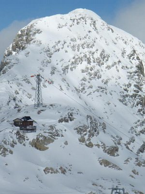 Rakouské Alpy říjen 2008