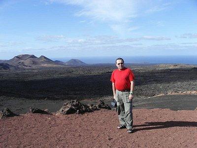 Montaňas del Fuego - Národní park ostrova Lanzarote dovolená leden09 (nahrál: Edita)