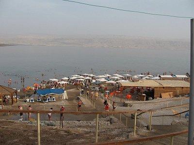 Mrtvé moře-koupaliště Kalia Beach (nahrál: Rea)