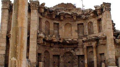 Jerash - chrám boha Dia (nahrál: petras21)