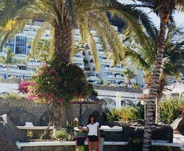 Gran Canaria - Playa Taurito - Duna flor