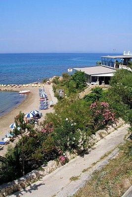 Pláž před hotelen Alexandra Beach (nahrál: Libor)