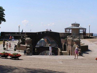 Helsingborg - Pohled v vrchní části z pevnosti na město (nahrál: josef Vágner)