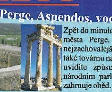 Perge a Aspendos - Turecko 2009