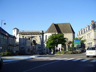 Beaune - centrum (nahrál: Trochy)