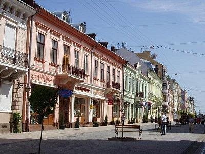 pěší zóna - Kobyljanska ul. (nahrál: Kamil Hainc)