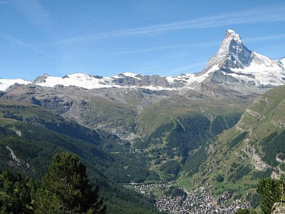 Zermatt pod Matterhornem (nahrál: bobanos)