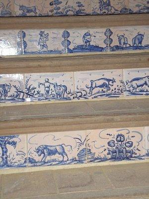 schody na tribunu v aréně (nahrál: ladka)