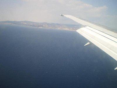 Thassos - Pohled z letadla (nahrál: šárka)