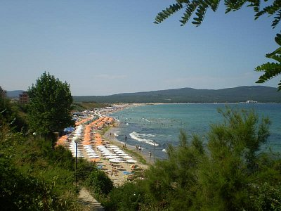 Notoricky známý pohled na severní pláž, ideální část je u Perly (nahrál: Joanna)