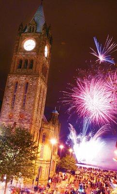 Hallowe\'en Festival, Londonderry (nahrál: admin)