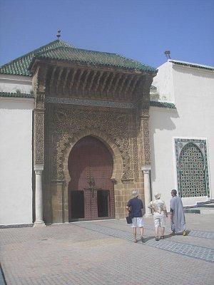 Vstupní portál do hrobky Moulaye Ismaila