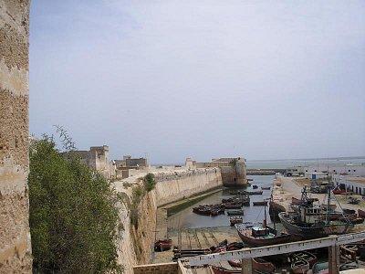 starý přístav pod hradbami