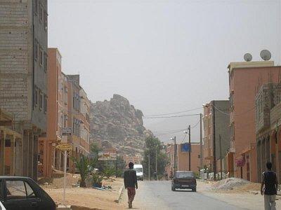 ulice městečka