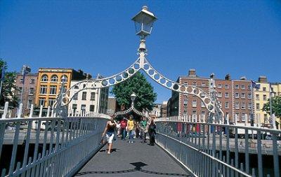 Ha\'penny Bridge, Dublin (nahrál: admin)