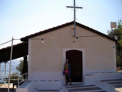já u kostelíku na ostrůvku v Tolu (nahrál: akara1989)