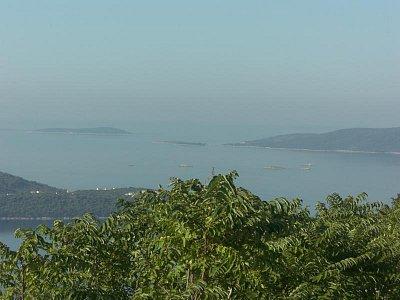 Pohled nad městem Trogir (nahrál: luboš)