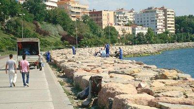 Istanbul-úklid pobřeží (nahrál: Hana Konrádová)