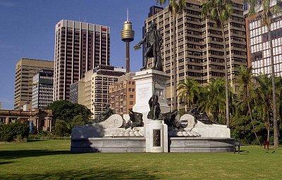 Botanická zahrada - Památník kapitána Artura Philipa (nahrál: Luboš)