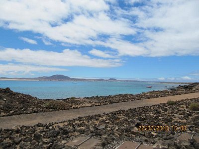 pohled na Fuerteventuru z ostrova Lobos (nahrál: sretka)