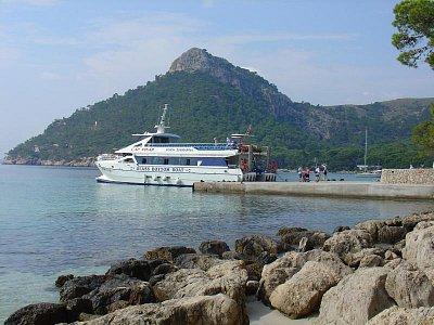 z Formentoru lodí (nahrál: Helča2)